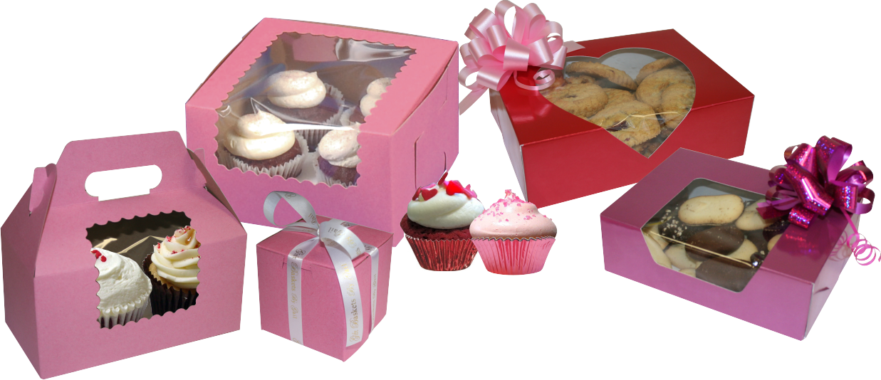 valentine's day bakery packaging