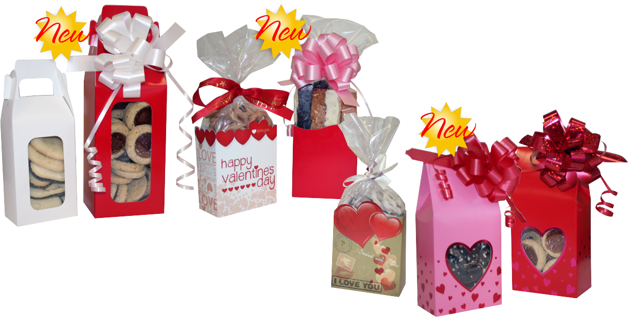 valentine's bakery packaging